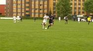 Goal football soccer Stock Footage