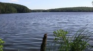Stock Video Footage of Scenic Pond 02