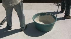 Waterproofing Stock Footage