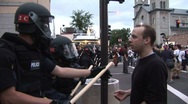 Stock Video Footage of Protestors – Police Make Arrests at RNC 08' 1