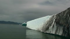 Iceberg from LeConte glacier Stock Footage