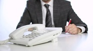 Business communication Stock Footage