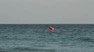 Stock Video Footage of Buoys near the beach