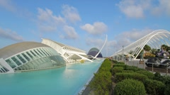 City of Arts and Sciences 2 B - stock footage