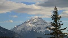 Banff park near jasper medium wide Stock Footage