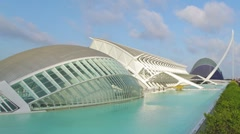 City of Arts and Sciences 2 C Stock Footage