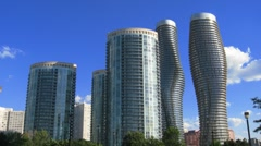 Absolute Skyline Time-Lapse Mississauga Stock Footage