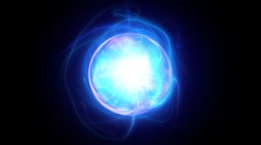 Energy ball. Stock Footage