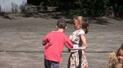 Kids dancing - stock footage