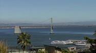 San Francisco and Bay Bridge HD Stock Footage