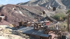 Old Mining Town(HD)c - stock footage