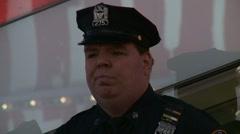 Big Cop (NYC) Stock Footage