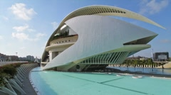 City of Arts and Sciences 3 B Stock Footage