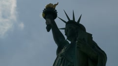 Timelapse number 2 Statue of Liberty (zoom) Stock Footage