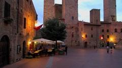 Italy, San Gimignano Stock Footage