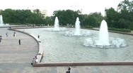 Stock Video Footage of Fountains Time Lapse