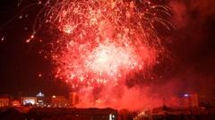 Fireworks 7 Stock Footage