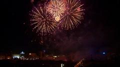 Fireworks 5 Stock Footage
