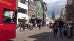 Oxford City 4 Stock Footage
