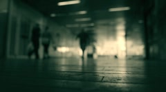 Underground Passage Stock Footage