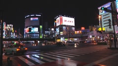 Tokyo traffic Stock Footage