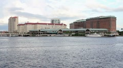 Harbor Island, Tampa Wide Shot Stock Footage
