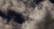 Scary Clouds - time lapse Stock Footage