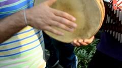 Folk music Stock Footage