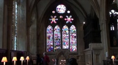 Christchurch Cathedral Oxford Stock Footage