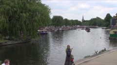 River Avon Stratford A - stock footage