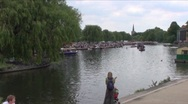 Stock Video Footage of River Avon Stratford A