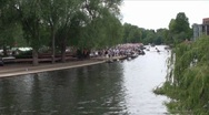 Stock Video Footage of River Avon Stratford B