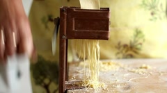 Soup pasta Stock Footage