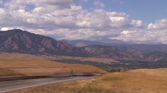 Time Lapse Boulder Turnpike 0910 01 Stock Footage