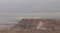 Massada Dead Sea Stock Footage