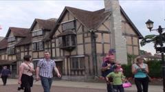 Shakespear's House Stock Footage
