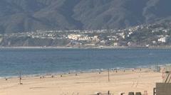 LA Santa Monica 0111 2 Stock Footage