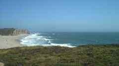 California Cliffs and Beaches HD Stock Footage