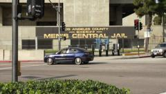Sheriff Central Jail in LA HD Stock Footage
