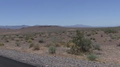 P01519 American Desert Southwest Tracking Shot - stock footage