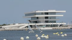 Valencia Port Stock Footage
