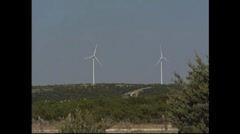 Wind Farms Stock Footage