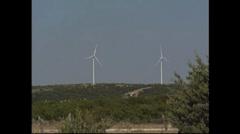 Wind Farms - stock footage