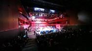 Boxing match is in illuminated hall BARVIKHA LUXURY VILLAGE Stock Footage