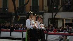 people of sardinia8 - stock footage