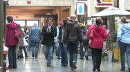Stock Video Footage of People in a Mall