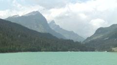 Lake in swizerland 1 Stock Footage