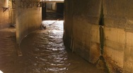 Stock Video Footage of Underground Storm Water Channels 2