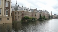 Stock Video Footage of Dutch Parliament in The Hague