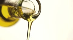 virgin olive oil - stock footage